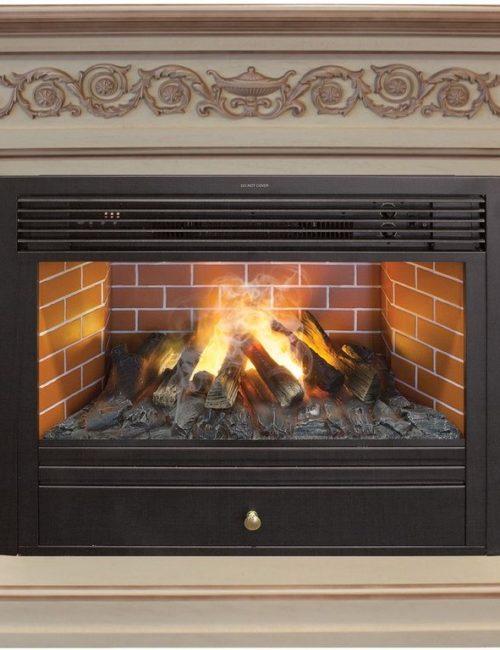 Электрокамины с живым огнем купить камин и газовый котел в один дымоход